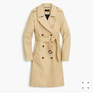 J Crew 2011 Icon Trench Rain Coat in Khaki